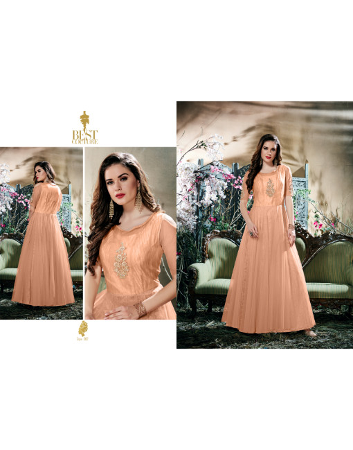 Princess Vol 1 Party Wear Semi Stitched Gown (1002)