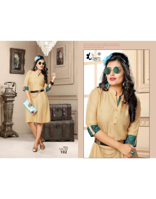 Rs 359 Piece - Sachi By Kinti Stitched Wholesale Kurti Catalog 12 pcs