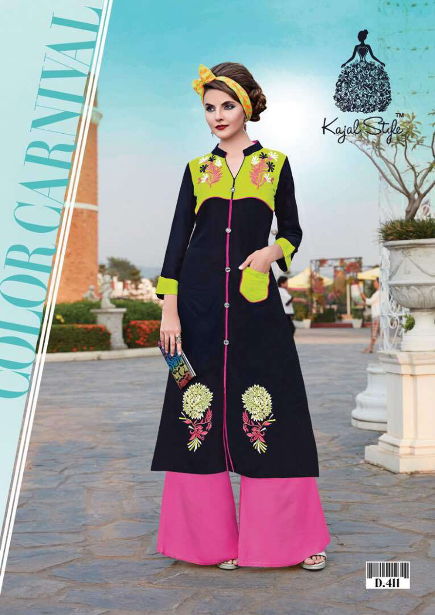 Rs 360 Piece - Kajal Style Mariyaz Collection Vol 4 Stitched Kurti Wholesale catalog 16 pcs