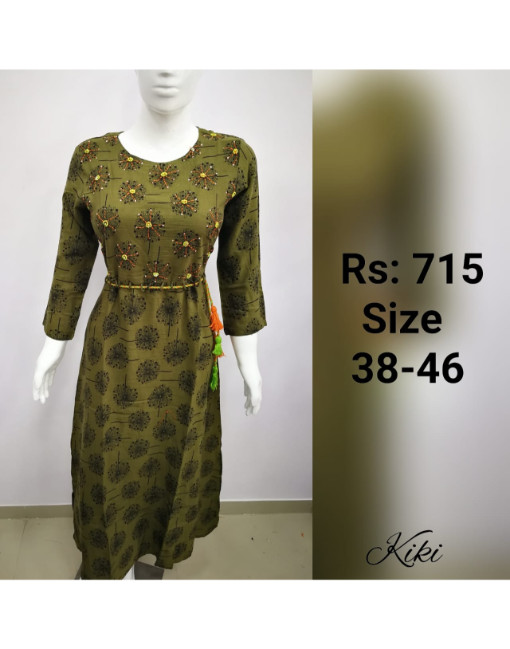 Aadrika Vol 1 Cotton Kurti catalog 5 pcs