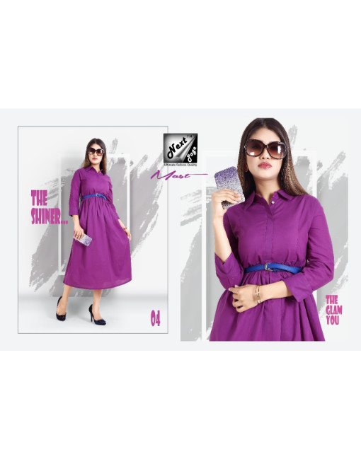 Rs 470 Piece - Mast by Next Page Stitched Kurti Wholesale Catalog 10 pcs