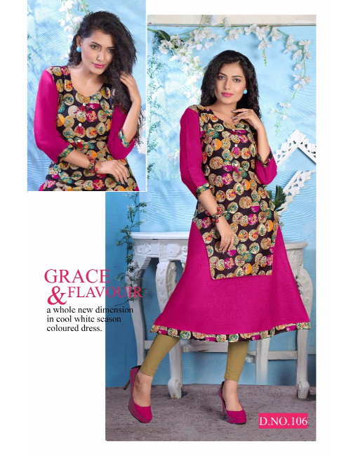 Rs 317 Piece - Mona vol 2 Stitched kurti Wholesale Catalog 10 pcs