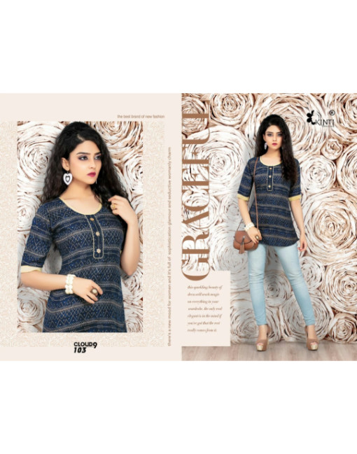 Rs 270 Piece - Cloud9 by Kinti Wholesale Top Catalog 12 pcs