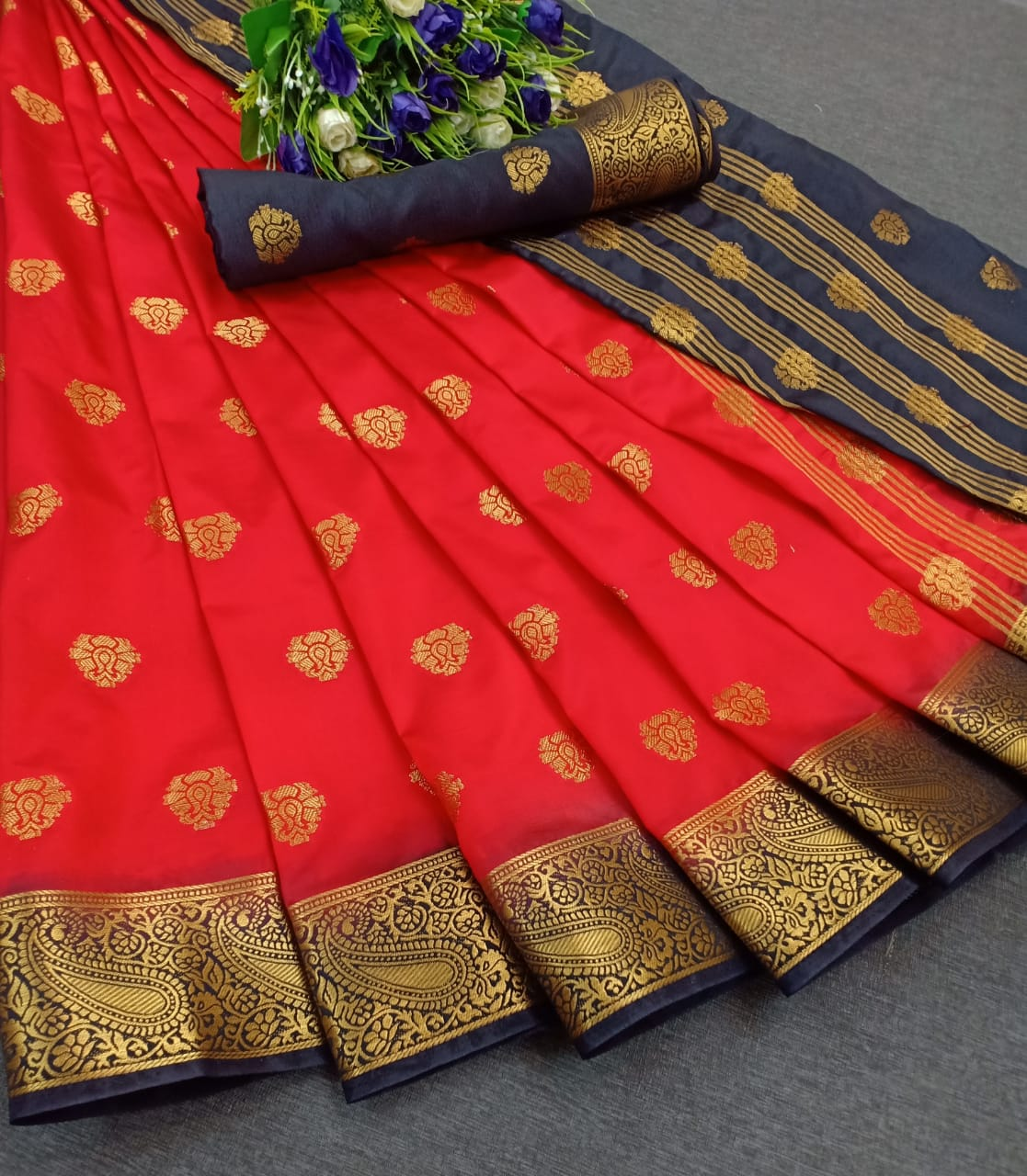 Janmangal Creation By Richi Silk Bhanarsi Saree