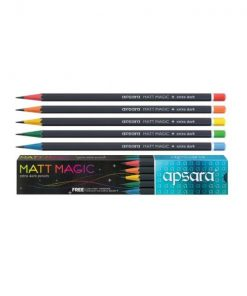 Apsara MATT MAGIC Extra Dark Pencil Set of 10 Pencils (Wholesale)