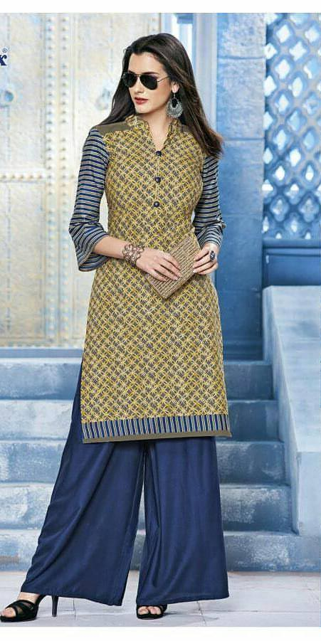 Deeptex Cotton Kurti-913 (Vol 9)