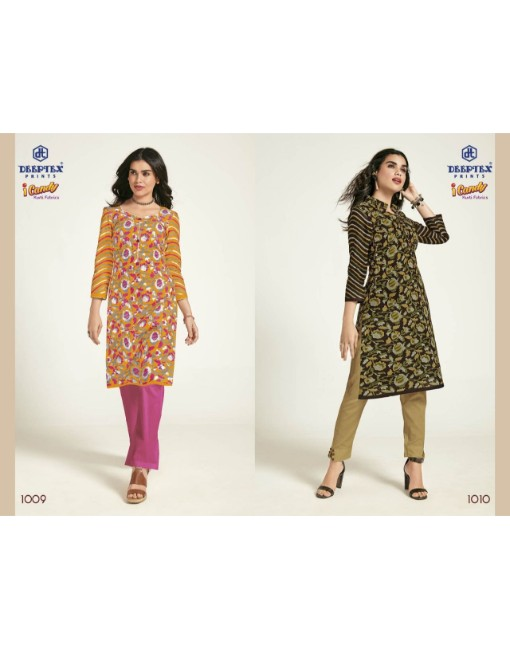 Rs 230 Piece - DEEPTEX I CANDY VOL 10 Stitched Kurti Wholesale catalog 20 pcs