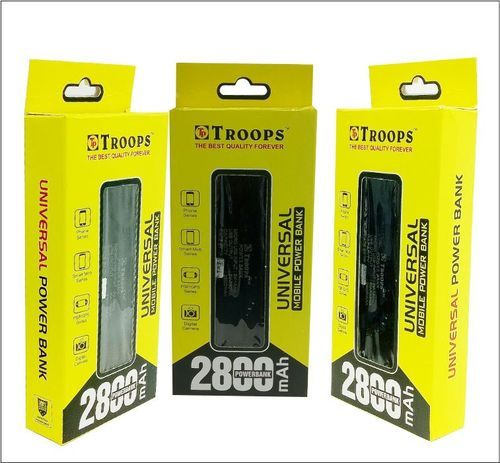 Troops 2800mAh Power Bank